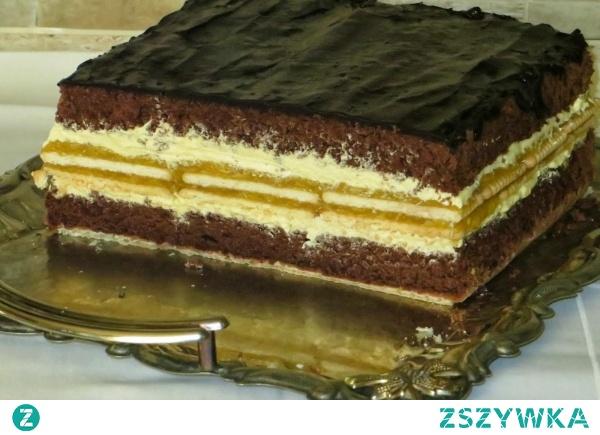 Ciasto: czekolada-jabłko-wanilia