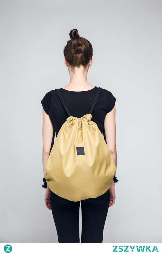 Złoty plecak - Lootbag classic / gold sand