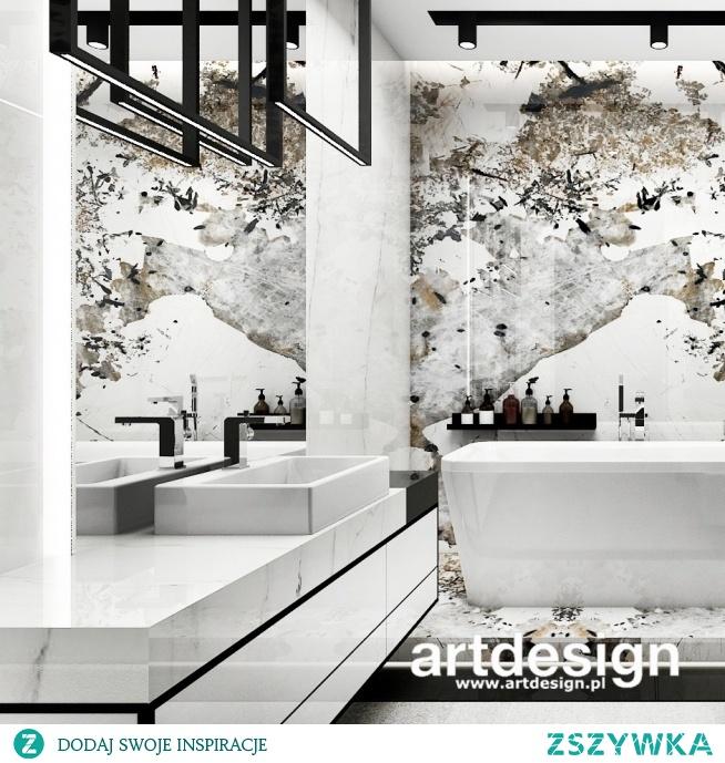 Jak zaprojektować elegancką i oryginalną łazienkę? Taki efekt można stworzyć wykorzystując naturalny kamień ze szlachetnym i niepowtarzalnym wzorem.   GOLDEN MEAN   Wnętrza domu