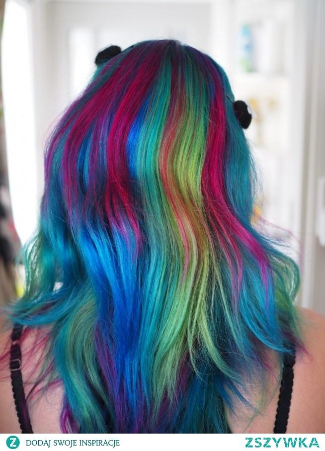 6 colours hair