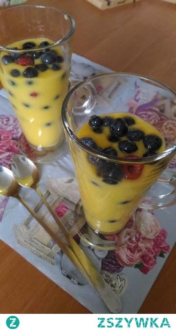 Szybki deser z mango