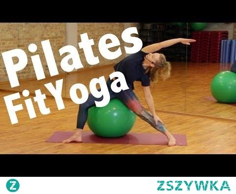 Pilates&FitYoga ćwiczenia na piłce FitBall