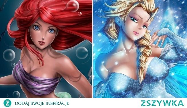 Arielka i Elsa