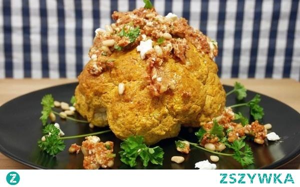 Świetna przekąska – aromatyczny kalafior zapiekany w curry. Tego jeszcze nie jedliście!