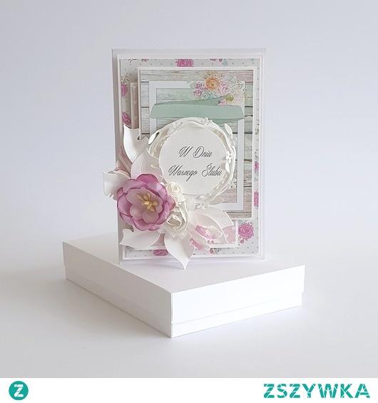 Piękna kartka na Ślub - W Dniu Waszego Ślubu
