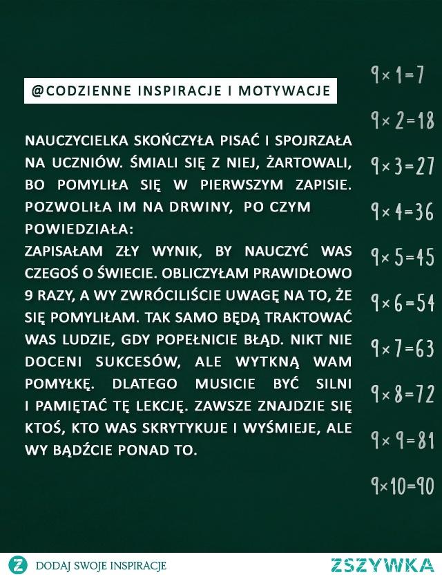Historia z lekcji matematyki codzienne inspiracje i motywacje