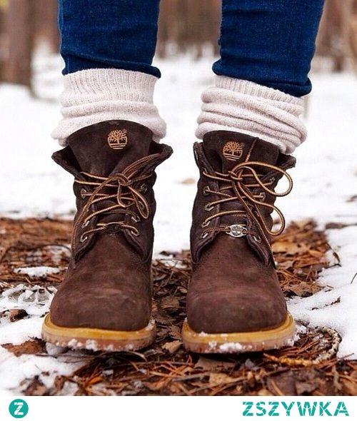 Bardzo lubię tego rodzaju buty na zimę <3
