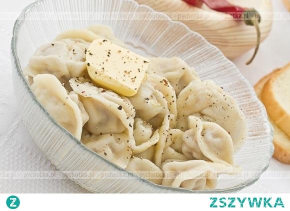 Pierogi z ziemniakami i boczkiem Marcina