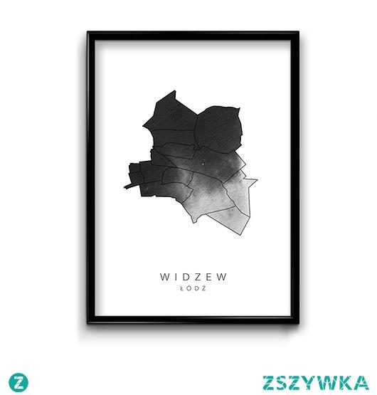 Plakat Łódź - Widzew