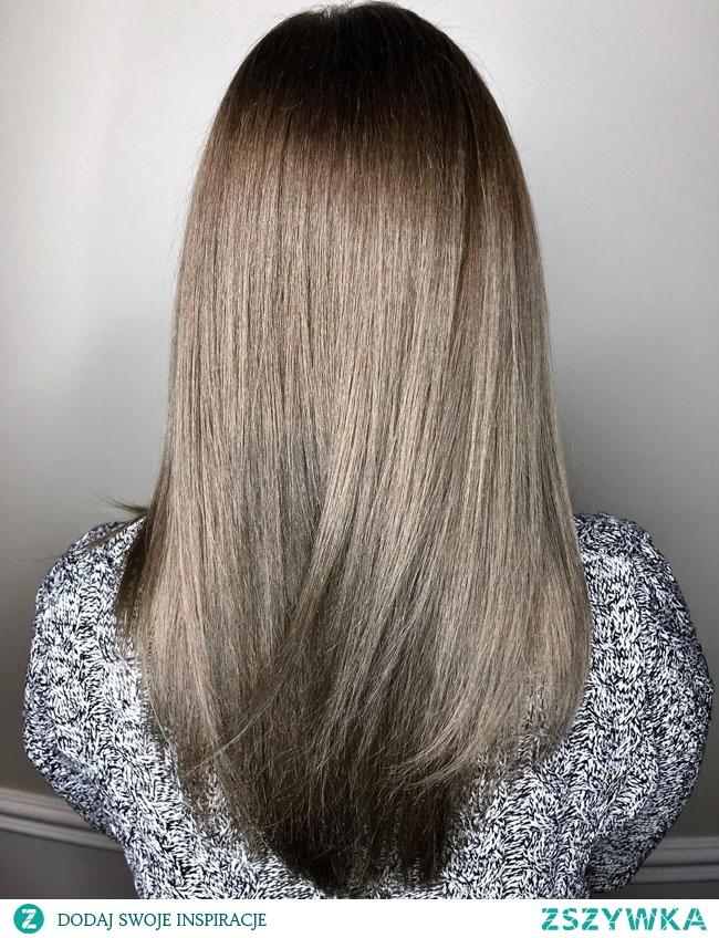 Пепельный русый цвет волос Ash blond hair Popielaty blond kolor włosów