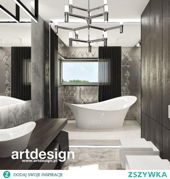 Piękna, nowoczesna łazienka   POWER OF DESIGN   Wnętrza domu