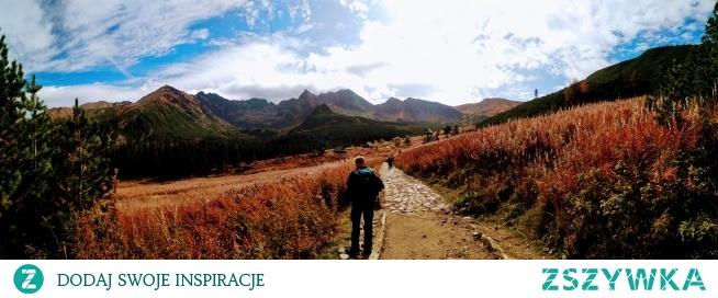 Widok na Świnicę, Kościelec Zawrat i Granat <3  Piękną pogoda