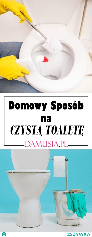 Domowy i Skuteczny Sposób na Czystą Toaletę