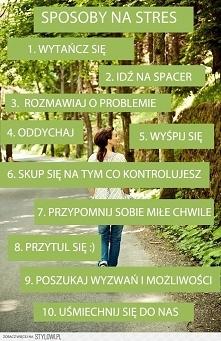 10 sposobów na stres