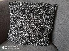 Poszewka na poduszkę ręcznie robiona