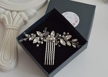 Grzebyk Chloe srebrny