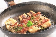 Smażone filety troci