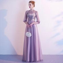 Piękne Lawenda Sukienki Wie...
