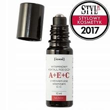 IOSSI A+E+C Witaminowy koktajl pod oczy. Retinol, witaminy E i C 10 ml