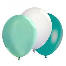Balony zestaw mięta biel tu...