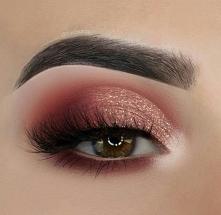 #makijaz #makijazwieczorowy #brokat #rzęsy #makeup #studniówka #prom #bal #we...