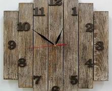 Przedmiotem oferty jest zegar drewniany z desek będący autorskim projektem, został wykonany ręcznie z naturalnego drewna najwyższej jakości, które zachowuje swój naturalny wyglą...