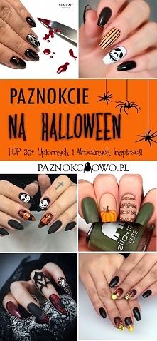 Paznokcie na Halloween – TOP 20+ Upiornych i Mrocznych Inspiracji na Modny Manicure na Halloween