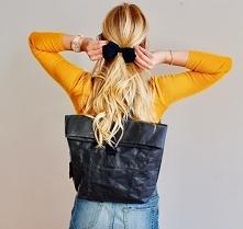 Sroka plecak – czarny