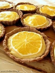 Tartaletki pomarańczowe