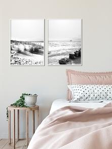 Dwa plakaty - Plaża 3