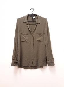H&M khaki shirt