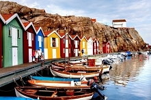 Puzzle krajobrazy, kolorowe...