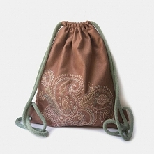 Plecak worek z kolorowym ha...