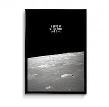 Moon&back - plakat