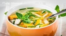 Zupa z marchewką i kurczakiem