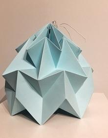 Abażur klosz Origami Biały ...