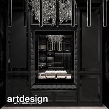Luksusowa garderoba w stylu glamour | POWER OF DESIGN | Wnętrza domu