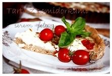 Tarta z pomidorkami i serem...