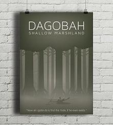 Star Wars - Dagobah - plakat