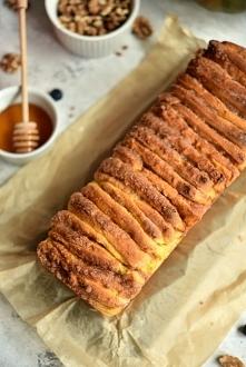 Odrywany chlebek dyniowy