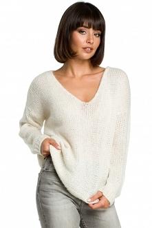 Sweter ze złotą nitką - ecr...