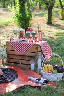 Słodki piknik i sesja narze...