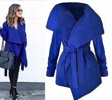 Płaszcz chabrowy NOWY! do zakupienia po kliknięciu w obrazek