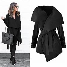 Płaszcz czarny po kliknięciu w obrazek możliwość zakupu!