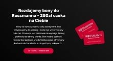 Darmowa ankieta rossman,do wygrania voucher o wartości 250 zł,link w komentar...