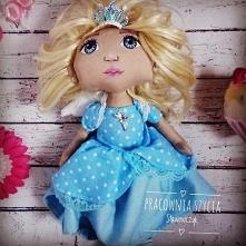 lalka królewna aniołek pięk...