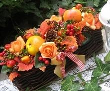 Piękna jesienna dekoracja