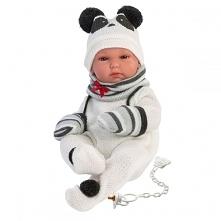 Lalka bobas panda 35cm pochodzi z najnowszej kolekcji Hiszpańskiej marki Llorens. Jest to zabawka (nie tylko) dla dziewczynek, w całości wykonana z delikatnego w dotyku winylu. ...