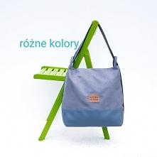 Szara torebka i plecak w je...