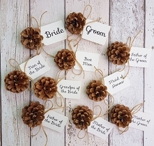 pine cone wedding place name